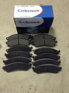 2 Sets Of Carbotech Brake Pads Ct412 Xp20 Mustang 01 02 Plus Vgx Pads New 3