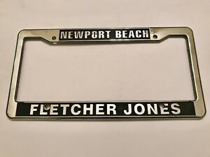 Newport Beach Fletcher Jones Mercedes Benz Car Dealer License Plate Frame