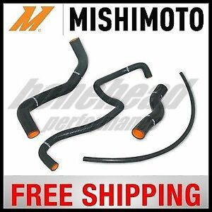 Mishimoto Silicone Turbo Intercooler Hose Kit 2006 2007 Subaru Wrx Red