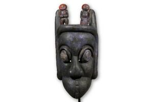 Large Authentic Ibibio Mask 34 Nigeria African Art