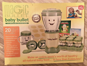 Magic Bullet - BABY BULLET Baby Food Making System with Processor