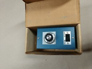 Ohmite Rheostat 1111 100ohm 0 87a Enclosed With On off Switch