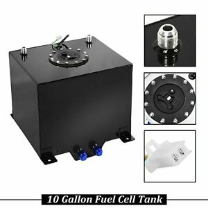 Sender Lightweight Coat Aluminum Race Drift Fuel Cell Tank 10 Gallon Level