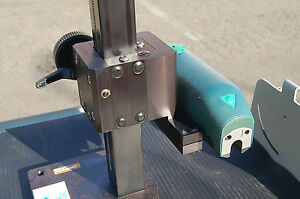 Detroit Hommel Waveline 10 Surface Roughness Probe Height Stand Base Guage