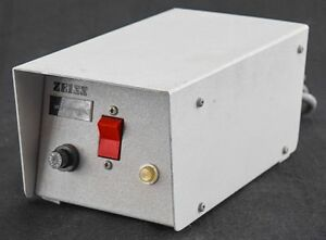 Zeiss Electro Powerpacs 1100 Microscope Lamp 37 43v 1 4a 50w Power Supply Unit