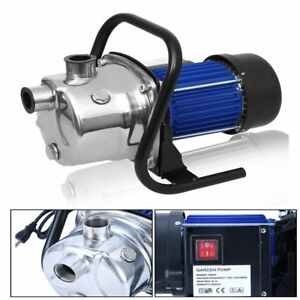 Water Pump With Electronic Switch Control Pressure Controller 1200w 110v 60hz Be