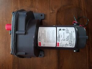 Dayton Dc Gearmotor Model 1l471 Hp 1 15 V12 Rpm 40 preowned Unused