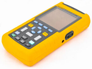 Fluke 123 Industrial Scopemeter Monochrome 20mhz Oscilloscope multimeter