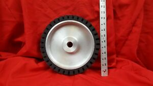 10 Serrated Contact Wheel For 2x72 Belt Sander Grinder