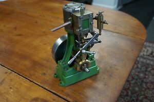 Stuart Number 4 Vertical Steam Engine With Reverse