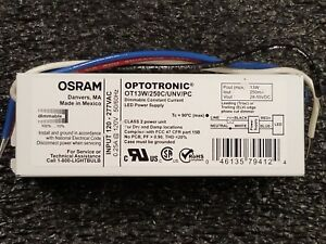 Osram Optotronic Ot13w 250c unv pc Dimmable Led Power Supply Driver
