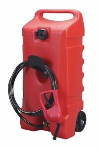 Flo N go Fuel Caddy Polyethlene Material 14 Gal Capacity Used For Fueling