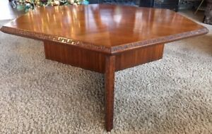 Frank Lloyd Wright Taliesin Hexagonal Coffee Table From Heritage Henredon