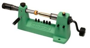 Redding Case Trimming Precision Micro Adjust Trimmer Kit Reload For Rifle Ammo