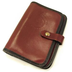 Occidental Leather Unstructured Planner Filofax Personal Size Stronghold Bags