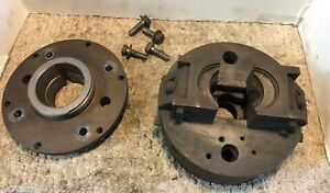 Cushman 7 1 8 Self Centering 2 Jaw Lathe Chuck L00 Mount Machinist Free Ship