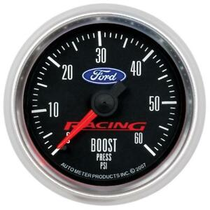 Autometer Ford Racing 52mm Mechaniacl 0 60psi Boost Gauge Am880106