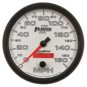 Autometer Phantom Ii 5in Electrical Programmable Speedometer 150mph Am7589