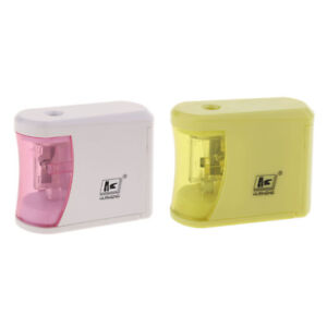 Electric Pencil Sharpener Automatic Touch Switch Home School Office Use