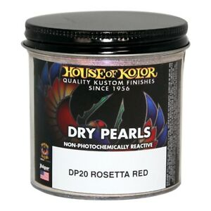 House Of Kolor Dp20 Rosetta Red Dry Pearl Paint Effect 2 Oz