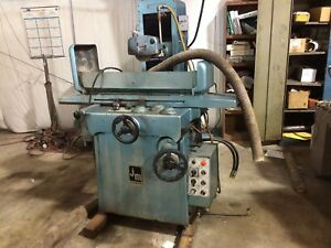 Jigmaster Mps 250ah 6 X 18 Hydraulic Surface Grinder Automatic