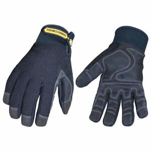 Waterproof All Purpose Gloves Waterproof Winter Plus Black Medium 1 Pair