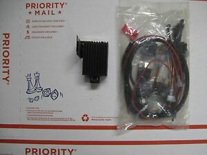 Western Oem Relay type Snow Plow Wiring New Drl Diode 26078 Parts Bag 64082