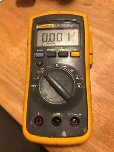 Fluke 112 True Rms Multimeter No Leads Tested Working