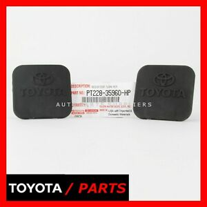 Factory Toyota Tundra Rav4 Tow Trailer Hitch Cover Oem Pt228 35960 Hp Set