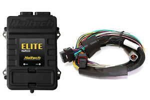 Haltech Elite 2500 Ecu 8 Ft Long Basic Universal Wire Harness Kit 3 Bar Map