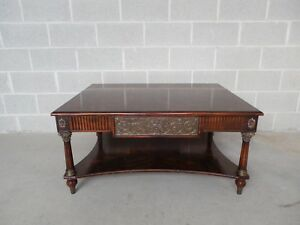 Theodore Alexander Regency Style Coffee Table 42 W
