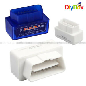 Mini Elm327 V2 1 Obd2 Ii Odb Diagnostic Car Auto Interface Bluetooth Scanner