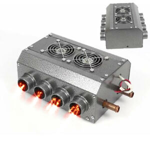 Universal Octa Outlet Car Under Dash Heater Box 12v Copper Coil Truck Tractor 1x