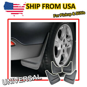 Universal Pick Up Van Mud Flaps Fron Rear Splash Guards Pickup Mudguards Fender