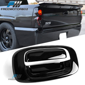 Fits 99 07 Chevy Silverado Gmc Sierra Black Overlay Tail Gate Handle Cover Fits More Than One Vehicle