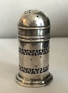 Gorham Sterling Silver Salt Shaker With Cobalt Insert A9034 One Only