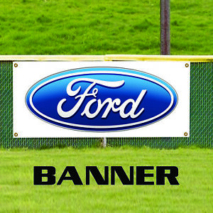 Ford Official Car Logo Business Advertising Outdoor Vinyl Banner Sign