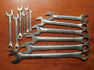 Sk Combination Wrench Lot 12 C 30 26 24 22 20 0 1820 16 14 88208 1820 1513 Set