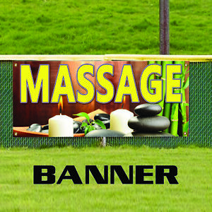 Massage Oil Therapy Advertising Business Outdoor Vinyl Banner Sign