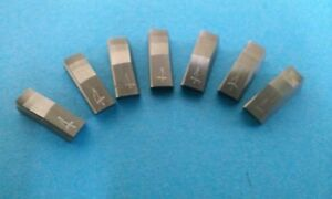 3 Angle Valve Seat Cutter Inserts 4 For New3acut 7pack 30 45 60x 062 Profile