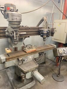 Bridgeport control path Automatic 360 3d Knee Mill true Trace pattern Tracer