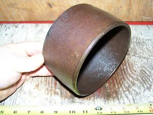 Old Ottawa Log Saw Cast Iron Belt Pulley Hit Miss Engine Steam Tractor Magneto