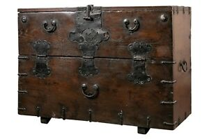 19th C Japanese Tansu Chest 91803