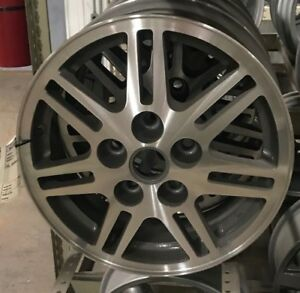 Buick Regal 2000 Wheel 15x6 Aluminum 14 Slot Silver