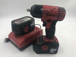 Snap on Ct4418 3 8 10mm Drive Cordless Impact Wrench