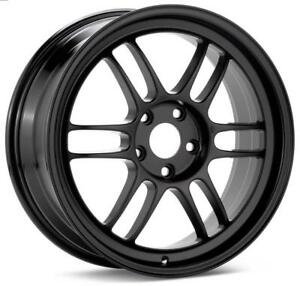 Enkei Rpf1 17x8 5x100 45mm Offset 73mm Bore Matte Black Wheel For 02 10 Wrx Fo