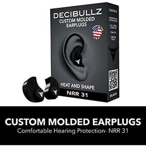 Custom Earplugs Molded Earplugs 31db Highest Nrr Comfortable Hearing Travel