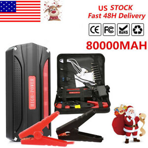 80000mah Car 20jump 20starter Battery 4usb Booster Charger Power Bank Rescue Us