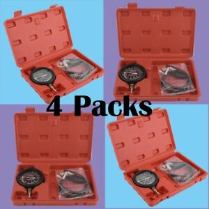 4x Carburetor Valve Fuel Pump Pressure And Vacuum Tester Gauge Test Tool Kit Be