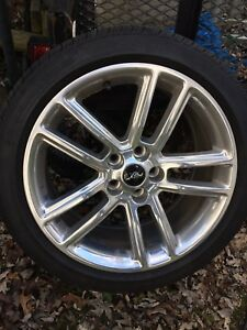 Like New Ford Mustang Pony 19 Wheels And Tires Excellent 2015 2016 2017 2018